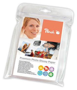 PIP200-03   Lesklý fotopapír Peach Premium, 260 g/m2 - 10x15 cm / 50 listů