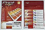 R0224.1427G   RayFilm Saténové/perlové vizitky pro ink. tisk s hl. okrajem, 255g/m2, 90 x 50 mm / 10 listů / 120 vizitek