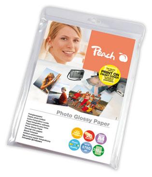 PIP100-06   Lesklý fotopapír Peach, 240 g/m2 - A4 / 50 listů